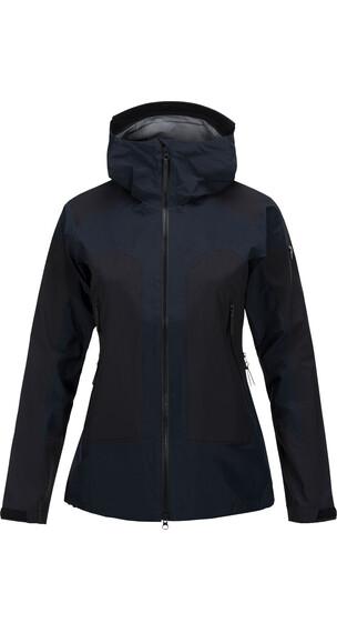 """Peak Performance W's Core 3L Jacket Black"""